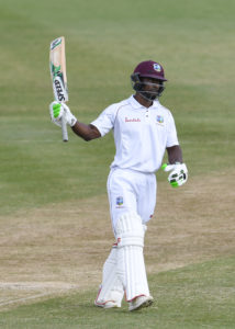 Devon Smith 53 No out as the Windies finished 118 for 2